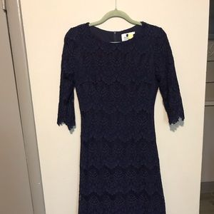 Dainty Jewell's A Night in Paris Dress Navy